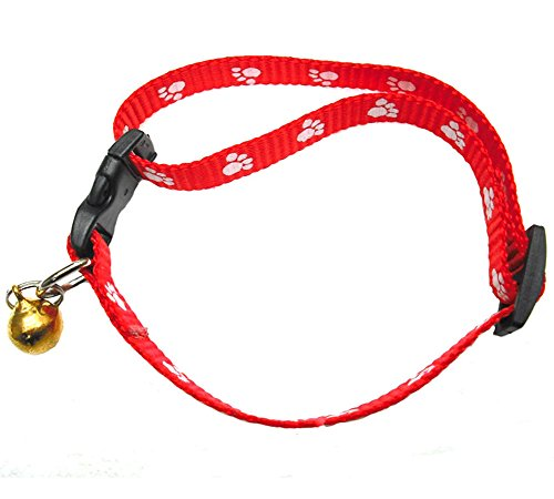 Heritage Pets Red And Black Plaid Dog Collar